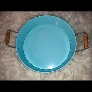 Circular Metal Catch-All Tray